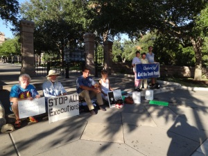 Sister Prejean and others, Sept 10, 2014
