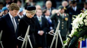 2015-05-04 - Koning WIllem Alexander en Koningin Maxima tijdens de Nationale herdenking op de Dam. ANP ROYAL